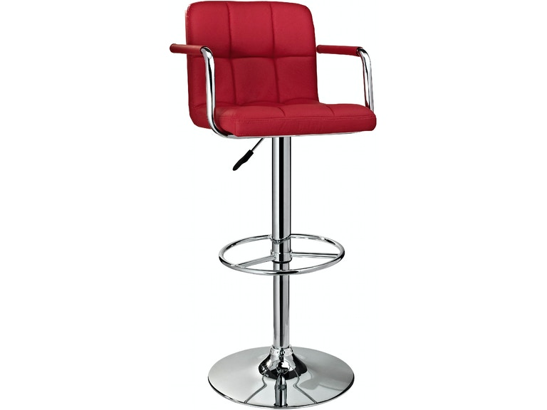 Enjoyable Powell Furniture Bar And Game Room Red And Chrome Quilted Uwap Interior Chair Design Uwaporg