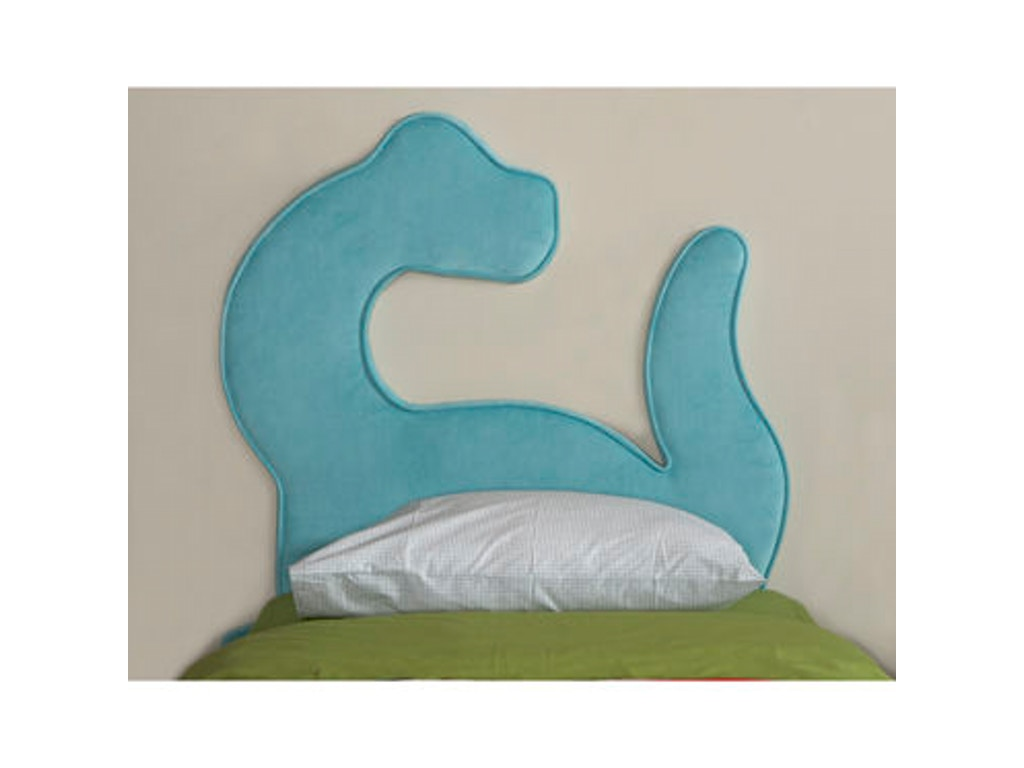 Powell Furniture Youth Dinosaur Twin Size Headboard 195