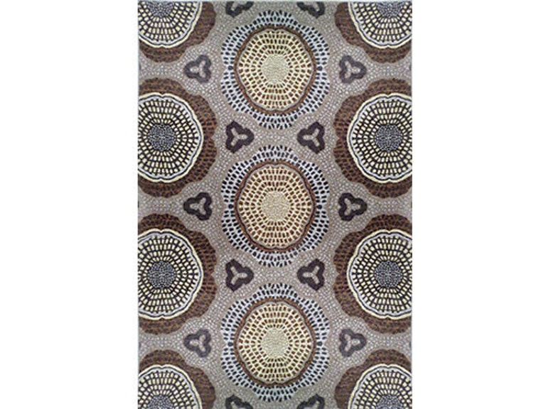 Powell Furniture Floor Coverings Chenille Tapis Lava Grey 5 X7 Rug