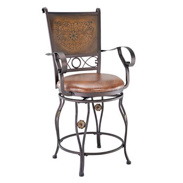 Powell Furniture Dining Room Big And Tall Copper Stamped