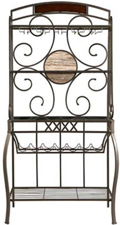 This Black Metal 4 Shelf Corner Baker S Rack For Indoor Or Outdoor Use Is Extremely Easy To Set Up No Tools Are Needed With A Simple Flip Of Your