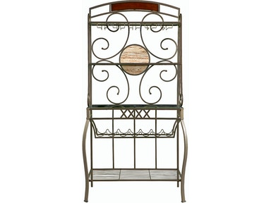 Powell Furniture Whitman Bakers Rack 236-424T2