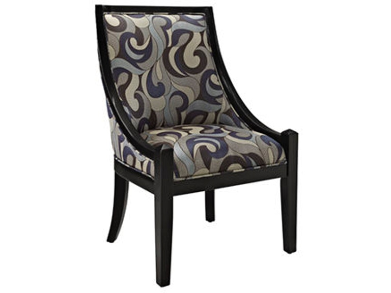Stupendous Powell Furniture Living Room High Back Accent Chair Blue Ibusinesslaw Wood Chair Design Ideas Ibusinesslaworg