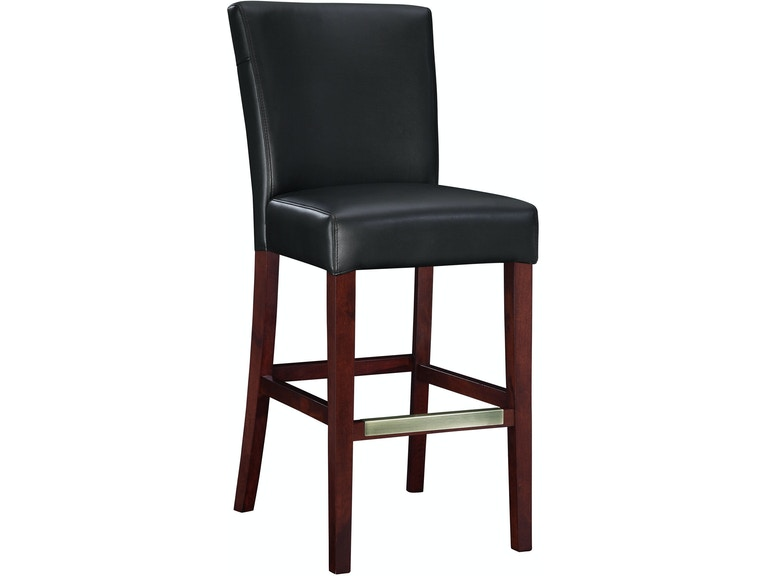 Miraculous Powell Furniture Bar And Game Room Black Bonded Leather Bar Evergreenethics Interior Chair Design Evergreenethicsorg