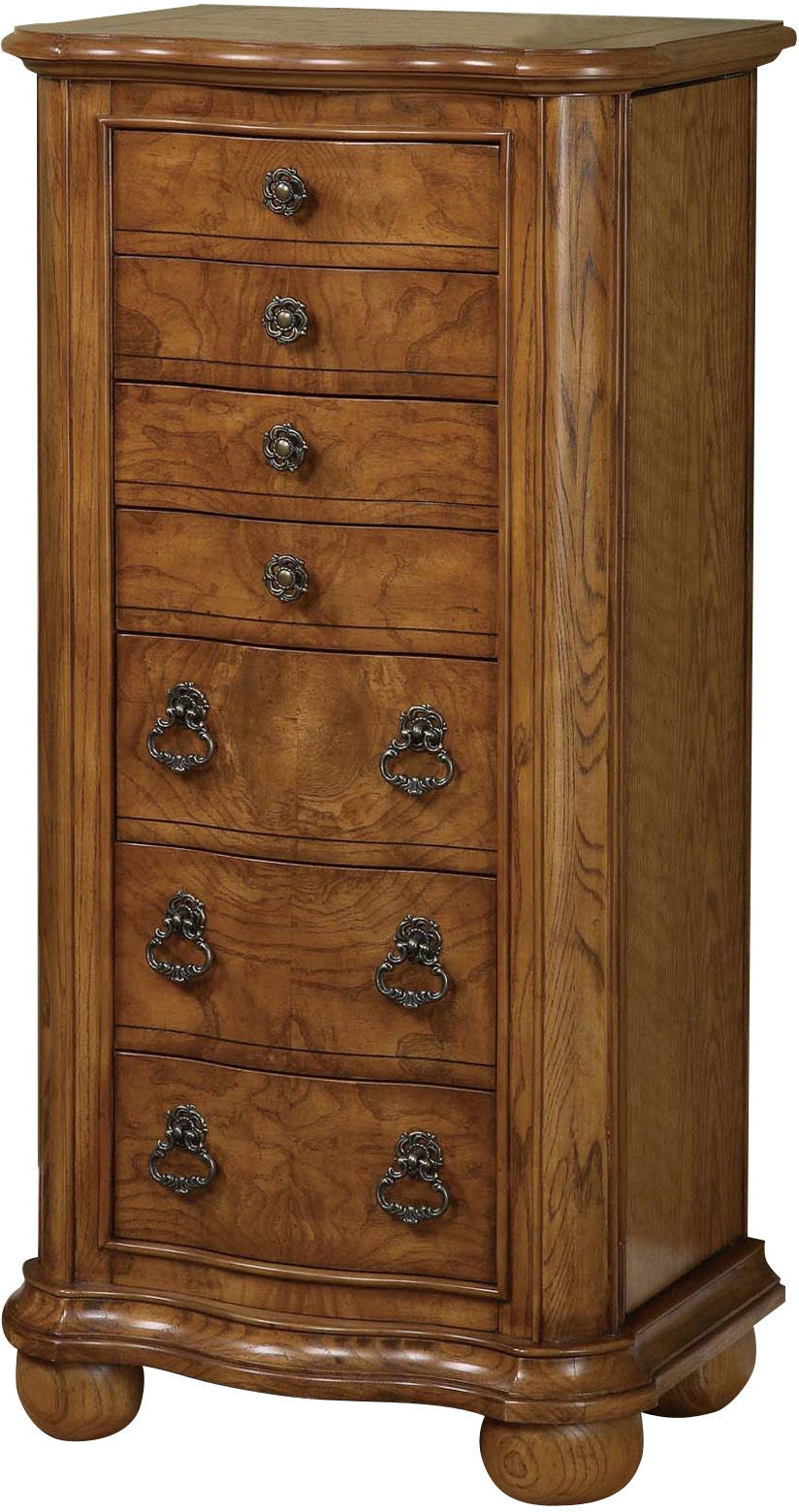 Powell Furniture Accessories Porter Valley Jewelry Armoire