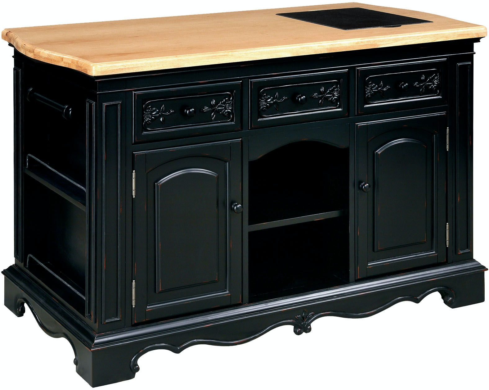 powell pennfield kitchen island counter stool powell furniture pennfield kitchen island 318 416 carol 27392