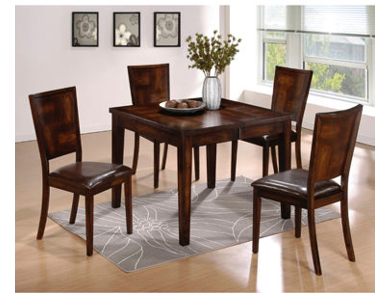 Powell Furniture Dining Room Flynn Exotic Black 5 Pc Dining Set 1