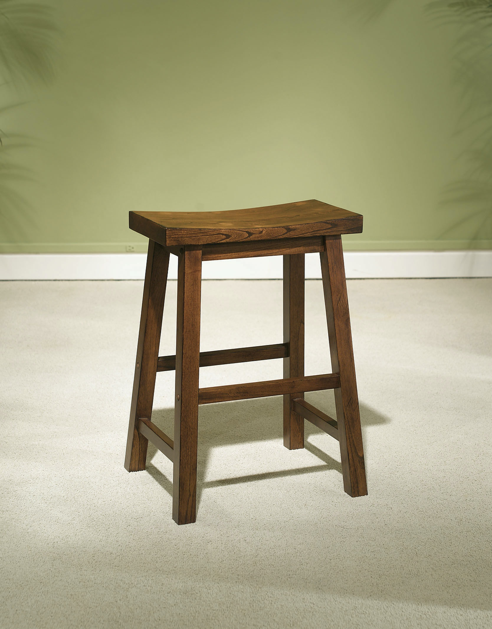 Powell Furniture Dining Room Honey Brown Counter Stool 24 Inches