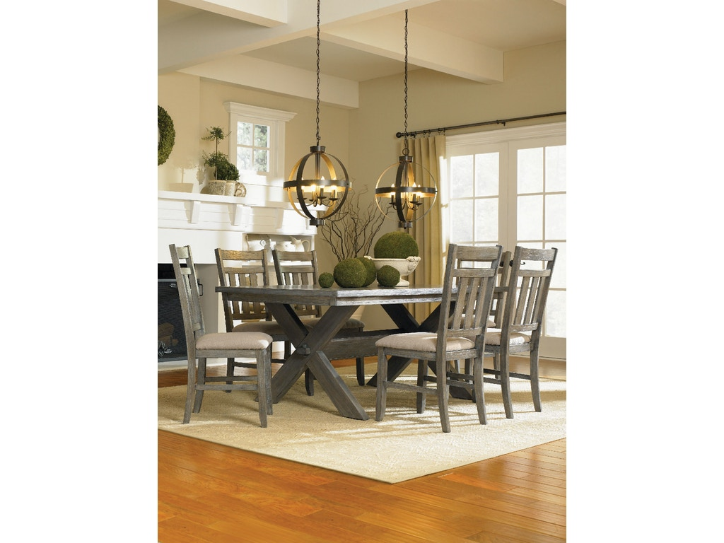 Powell furniture dining room turino rectangle dining table for H o rose dining room