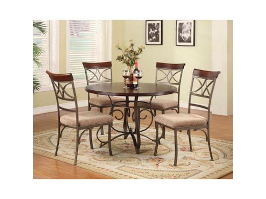 Powell Furniture Dining Room 5 Pc Hamilton Dining Set