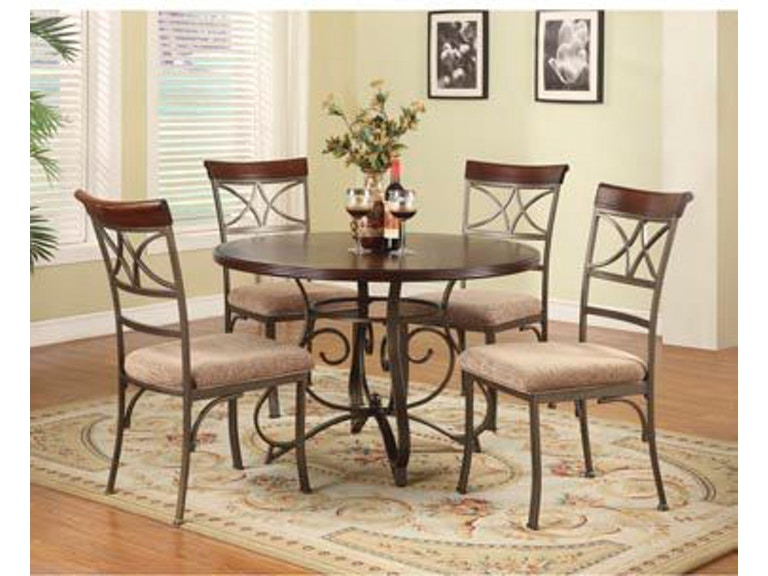 Powell Furniture 5 PC Hamilton Dining Set