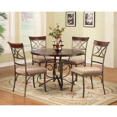 Powell Furniture 5 PC. Hamilton Dining Set   (1) 697 413