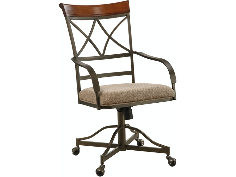 Powell Furniture Dining Room Hamilton Swivel Tilt Castered Arm Chair