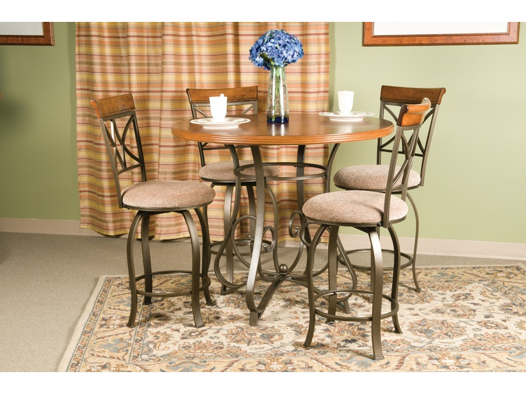 Powell Furniture Dining Room 5 Pc Hamilton Gathering Set 1 697