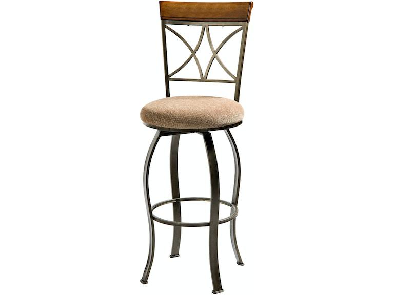 Remarkable Powell Furniture Bar And Game Room Hamilton Swivel Bar Stool Inzonedesignstudio Interior Chair Design Inzonedesignstudiocom