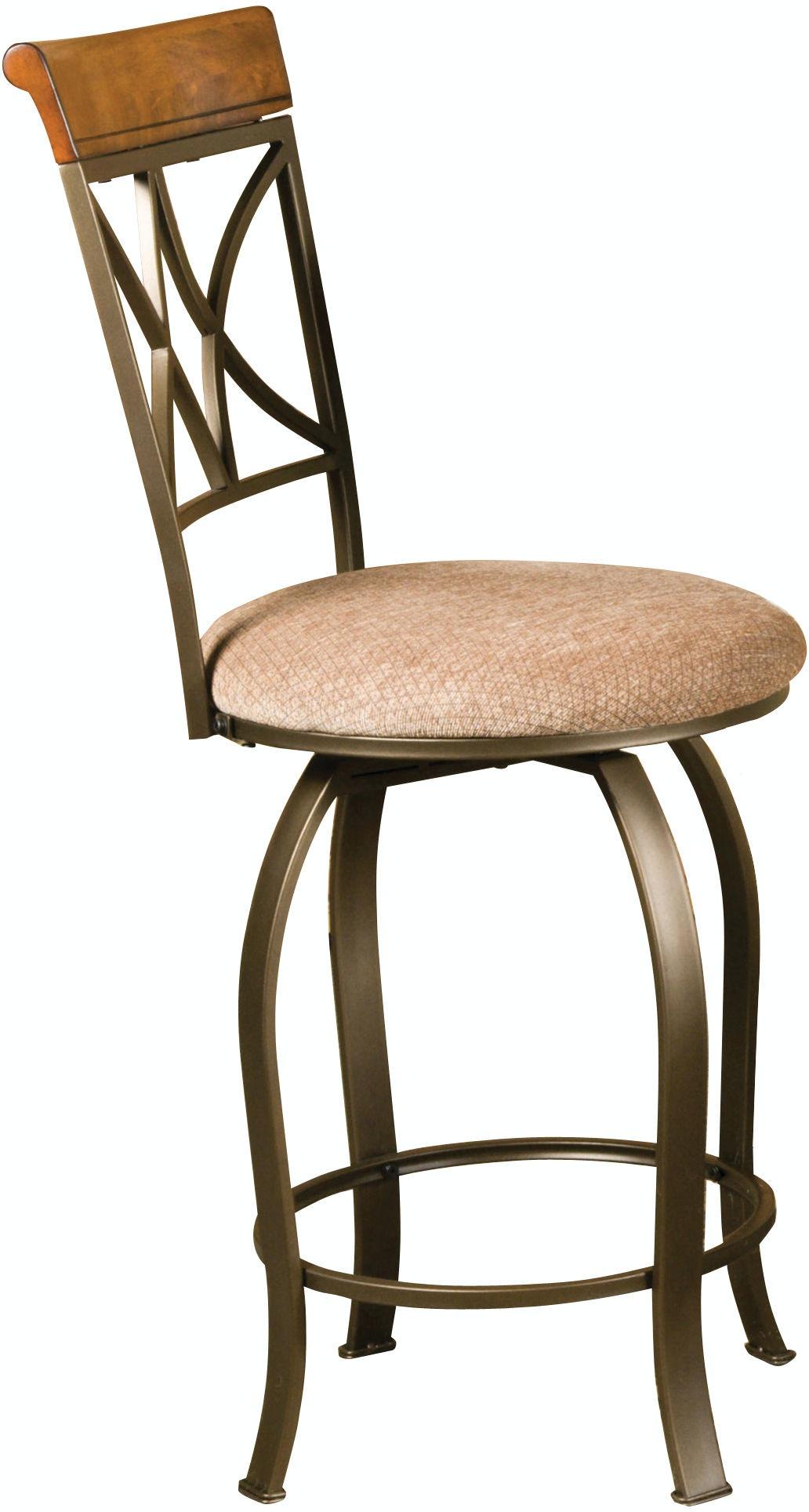 Powell Furniture Dining Room Hamilton Swivel Counter Stool