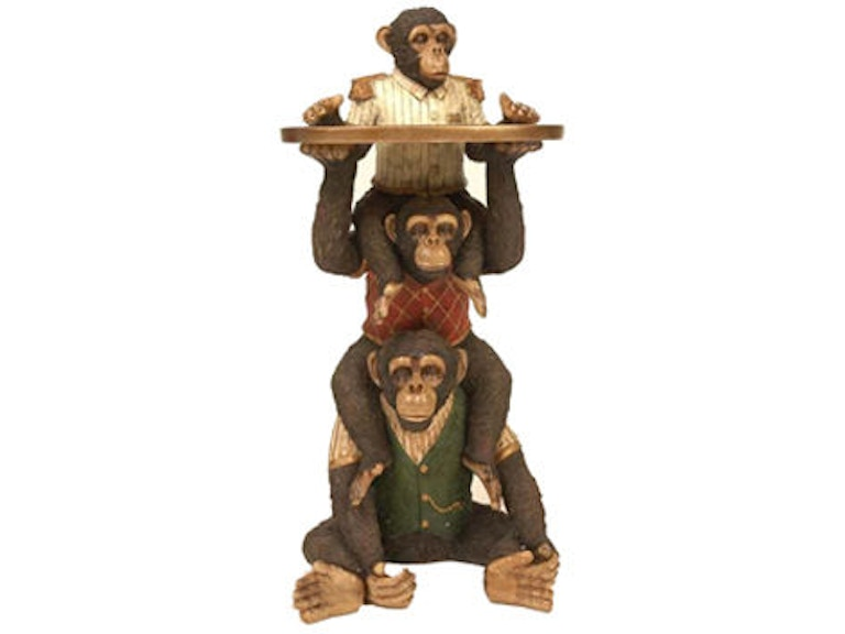 Powell Furniture Living Room Stacking Monkey Service Table 729-881