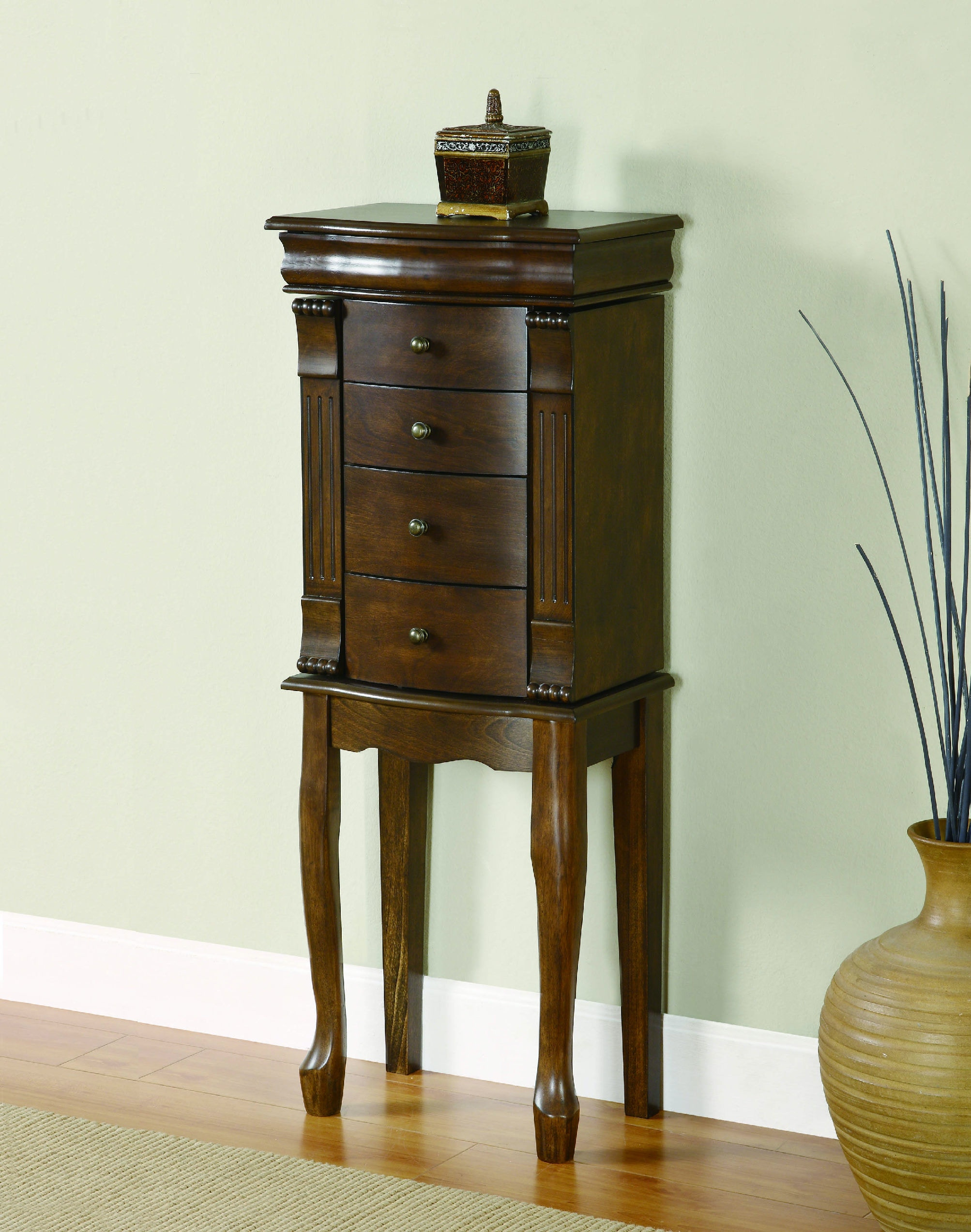 Powell Furniture Accessories Louis Philippe Walnut Jewelry