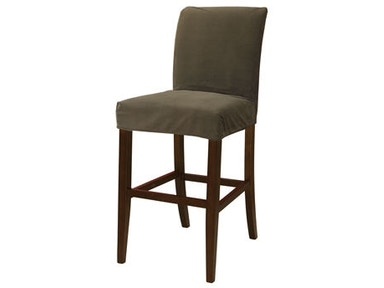 Powell Furniture Mink Brown Velvet Slip Over Slipcover - Pack 1 (Fits 742-430 Counter Stool Or 742-432 Bar Stool. Stool Not Included.) 742-255Z