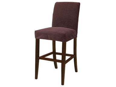 Powell Furniture Port Purple Velvet Slip Over Slipcover - Pack 1 (Fits 742-430 Counter Stool Or 742-432 Bar Stool. Stool Not Included.) 742-257Z