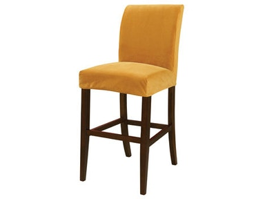 Powell Furniture Butternut Gold Velvet Slip Over Slipcover - Pack 1 (Fits 742-430 Counter Stool Or 742-432 Bar Stool. Stool Not Included.) 742-263Z