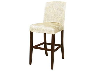 Powell Furniture Champagne Floral Slip Over Slipcover - Pack 1 (Fits 742-430 Counter Stool Or 742-432 Bar Stool. Stool Not Included.) 742-267Z