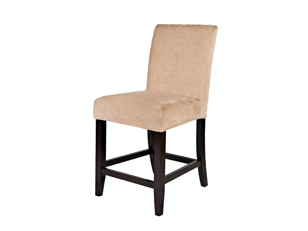 Powell furniture living room slip over counter stool 24 inch seat height 742 430 dewey Counter seating