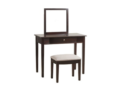 Powell Furniture Merlot Vanity 809-290
