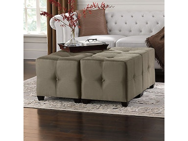 Powell Furniture Langham Ottoman 830-295