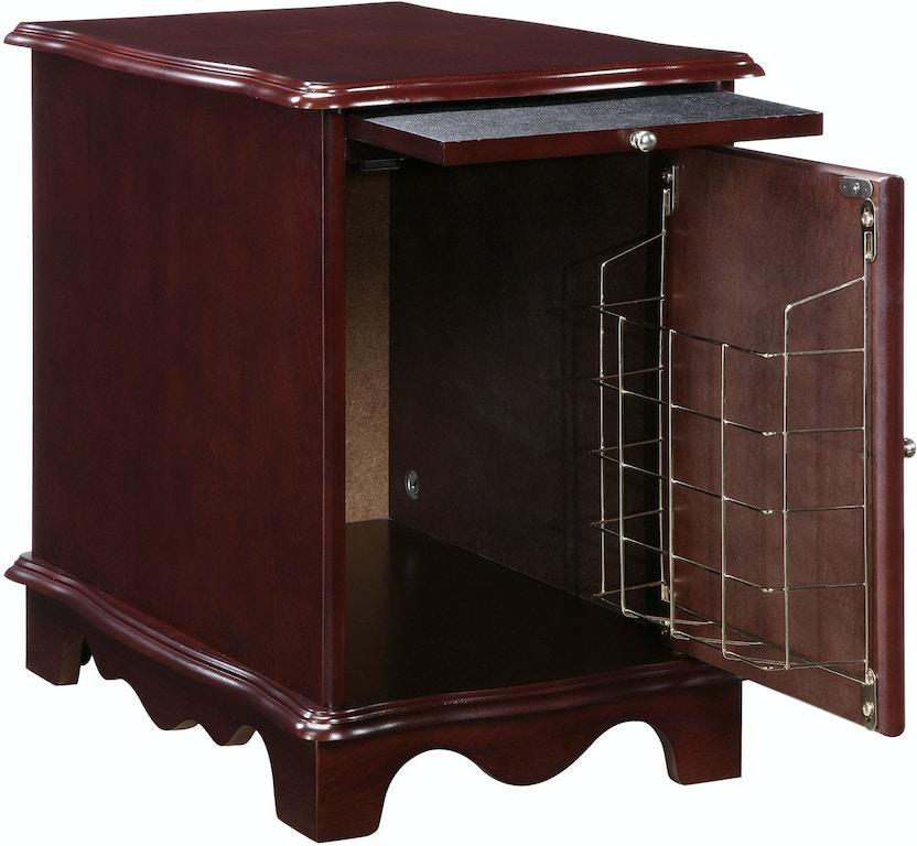 Powell Furniture Living Room Heirloom Cherry Magazine