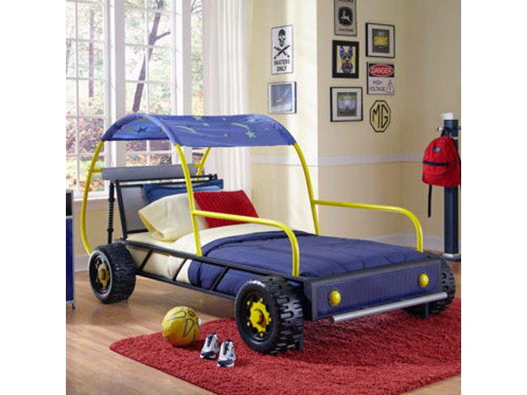 Powell Furniture Dune Buggy Car Twin Bed 904 038