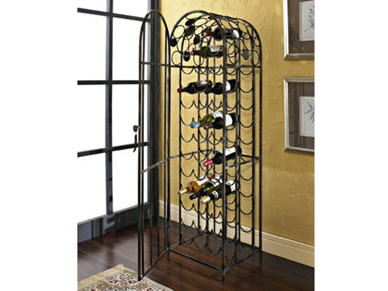 Powell Furniture Accessories Reflections Wine Rack 928-428