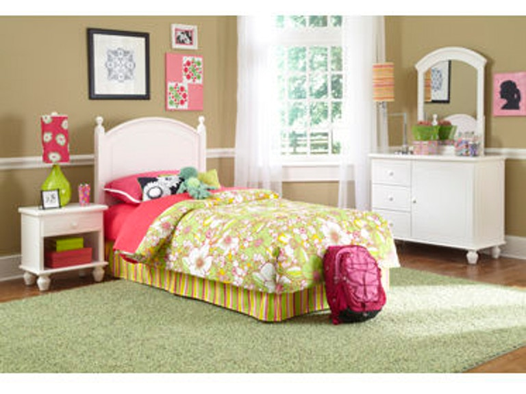 Powell Furniture Youth White Bedroom In A Box 929-189
