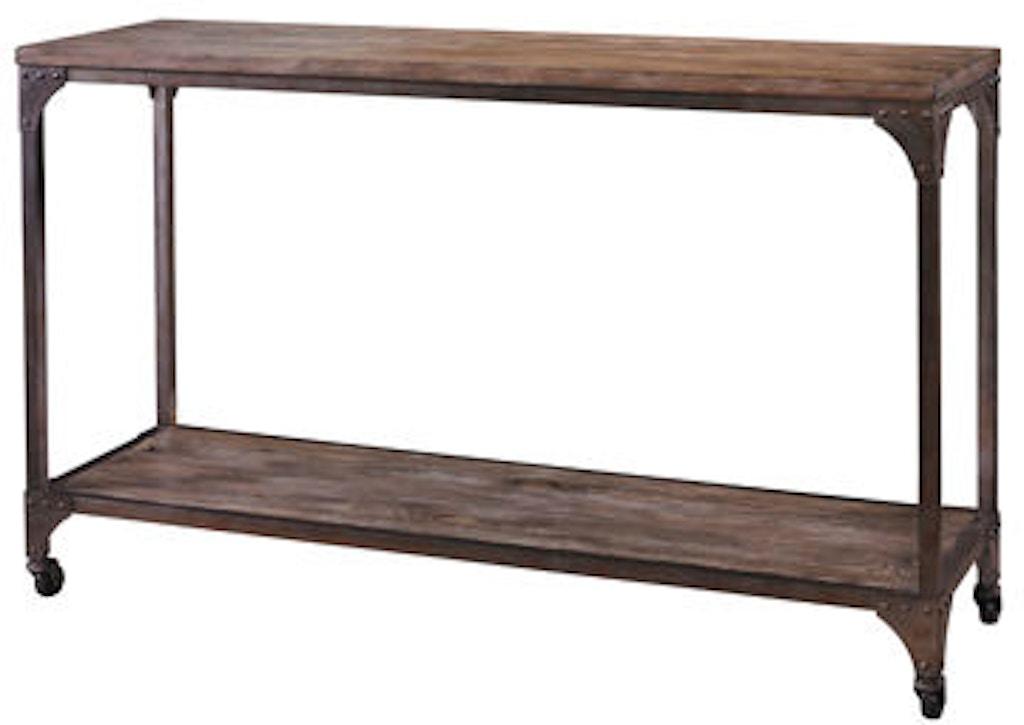 Fantastic Powell Furniture Living Room Benjamin Reclaimed Console Dailytribune Chair Design For Home Dailytribuneorg
