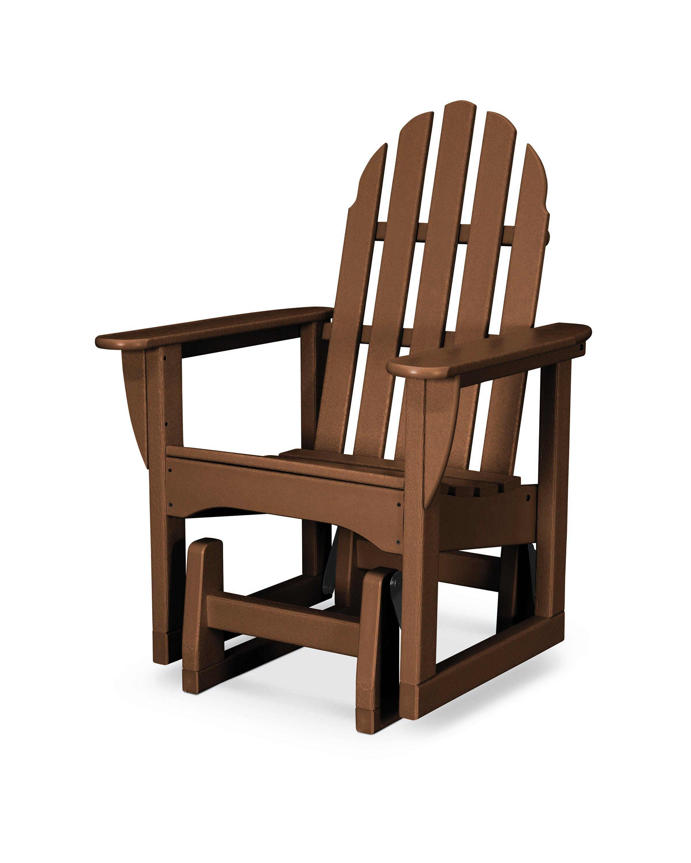 Classic Adirondack Glider Chair Adsgl 1te