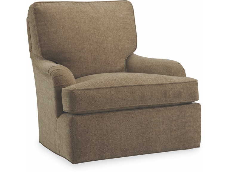 Lee Industries Living Room Swivel Chair