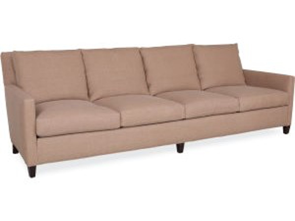 Lee industries living room extra long sofa 1296 44 for How long is a loveseat
