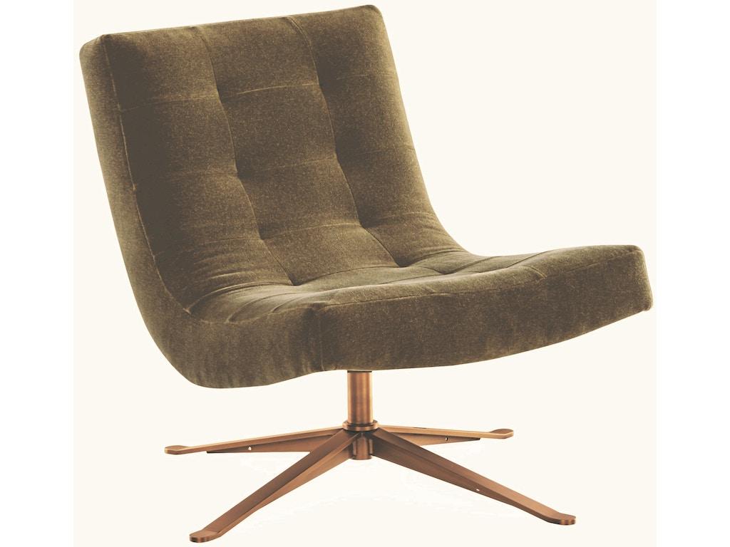 Lee Industries Living Room Swivel Chair 1538 01sw Exotic