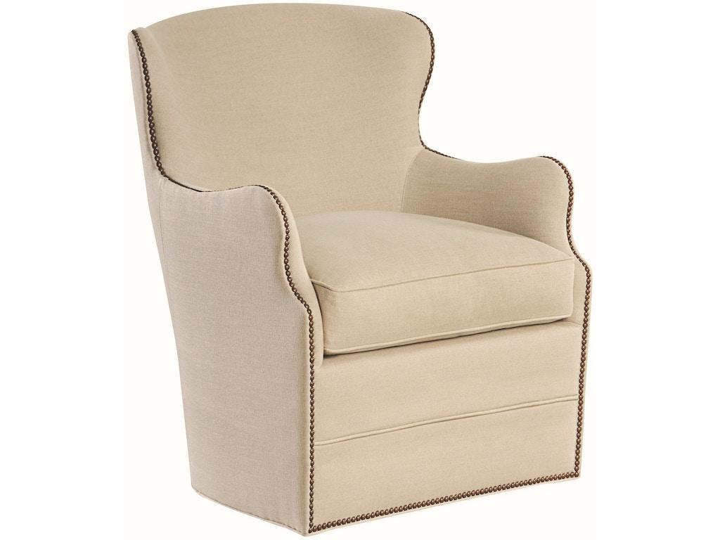 Lee Industries Living Room Swivel Chair 1993 41sw Exotic