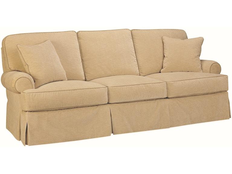 Lee Industries Living Room Sofa 2450 03 Meg Brown Home