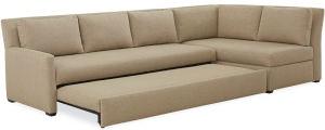 Lee Industries Living Room Convertible Sleeper Sectional Series