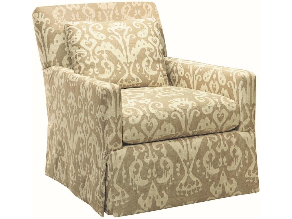 Lee Industries Living Room Swivel Chair 3907 41sw Exotic