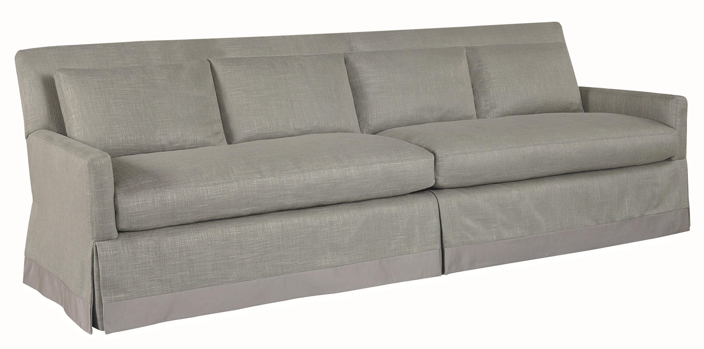 Lee Industries Two Cushion Four Back Sofa 3907 44