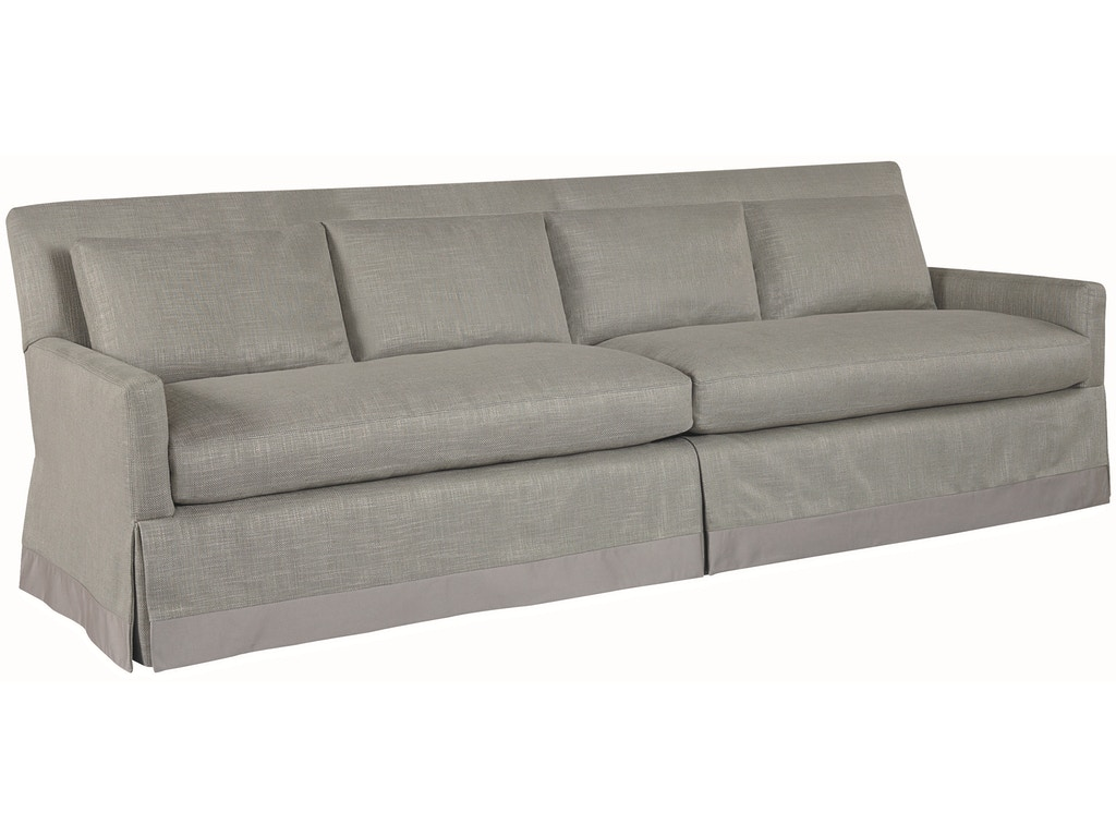 Lee industries living room two cushion four back sofa 3907 for Sofa design for hall