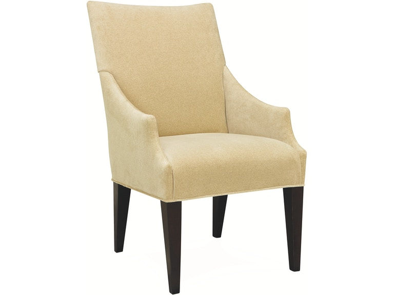 Lee Industries Unskirted High Back Campaign Chair 5206 41