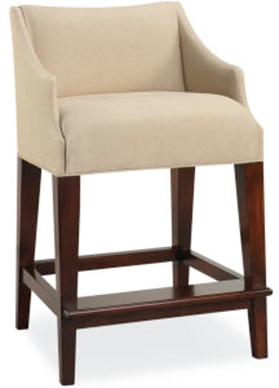 Enjoyable Lee Industries Bar And Game Room Campaign Counter Stool 5206 Lamtechconsult Wood Chair Design Ideas Lamtechconsultcom