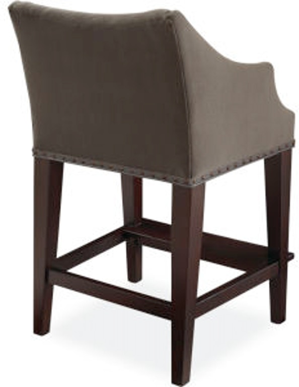 Fine Lee Industries Bar And Game Room Campaign Counter Stool 5206 Lamtechconsult Wood Chair Design Ideas Lamtechconsultcom