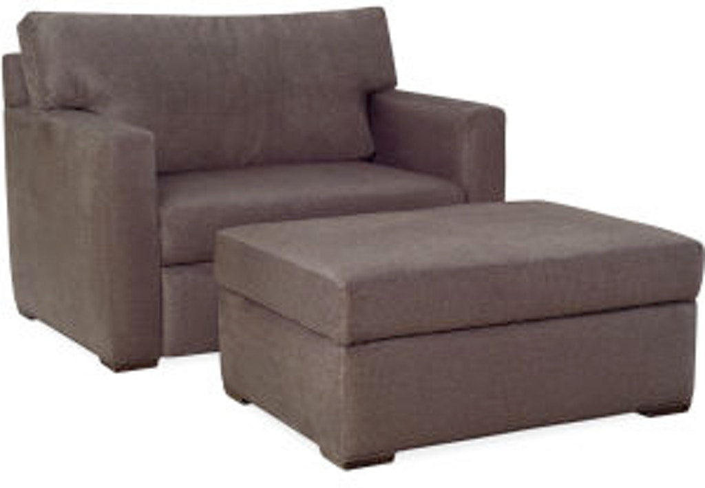 Lee Industries Living Room Convertible Chaise 5382 96
