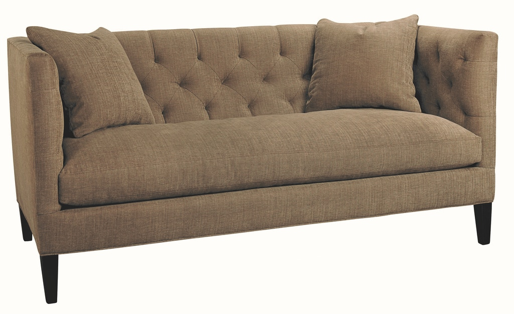 Lee Industries Living Room Leather Apartment Sofa L7733-11 ...