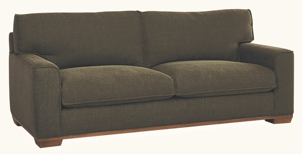 Lee Industries Living Room Leather Apartment Sofa L7942-11 ...